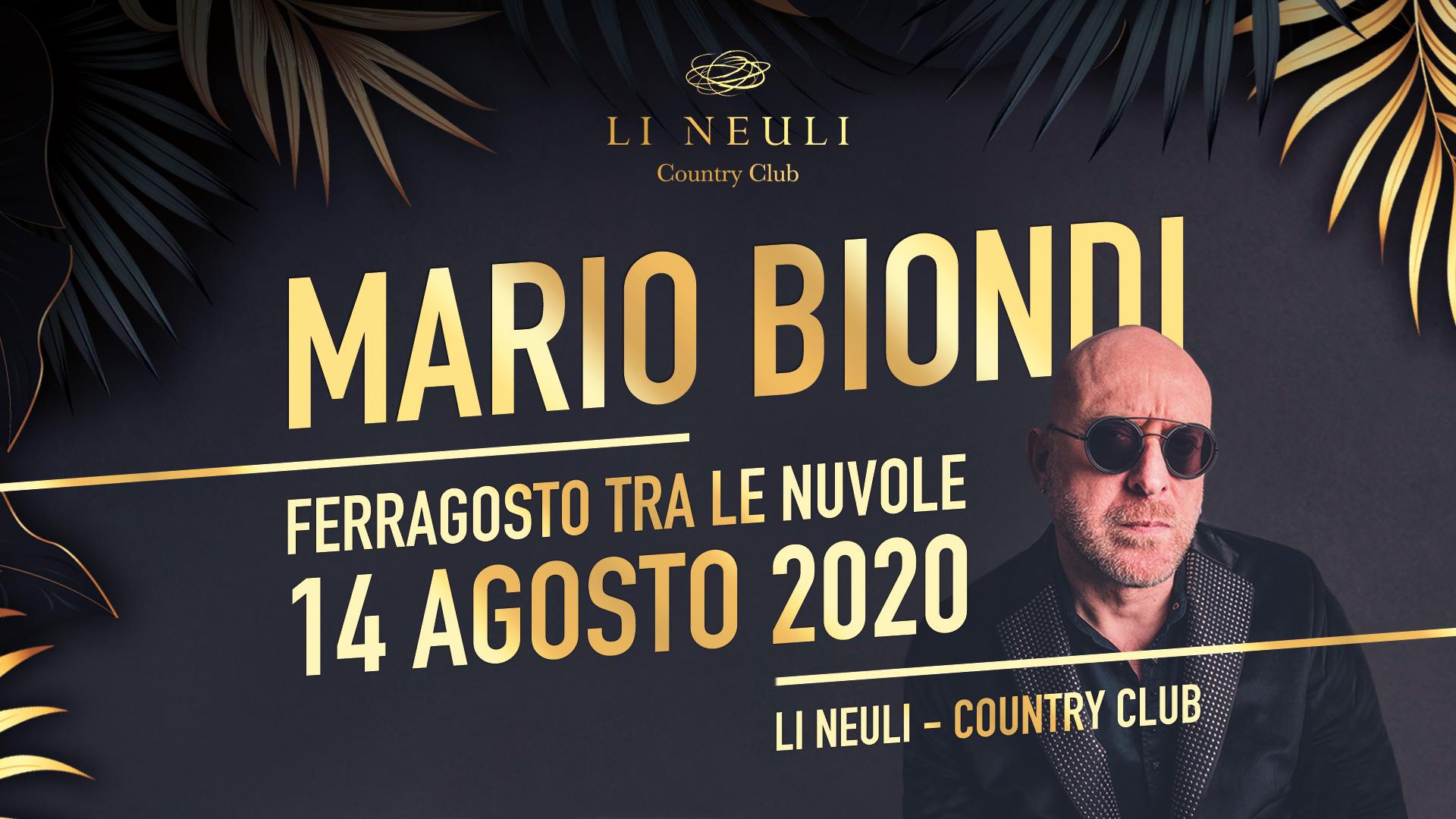 Mario Biondi Porto Cervo 2020